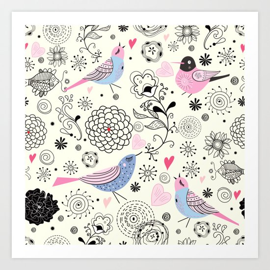 pattern 09 Art Print