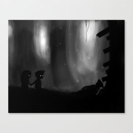 Overlooking Chaos Canvas Print