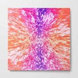 Color Vortex Metal Print