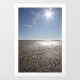 February sun Art Print