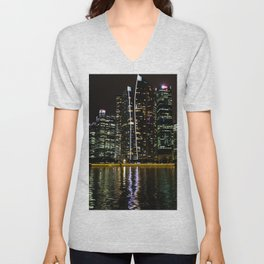 A Ripple of Water Unisex V-Neck