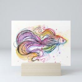 Betta Fish Mini Art Print