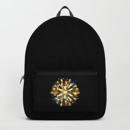 Ball of Gold Stars Backpack