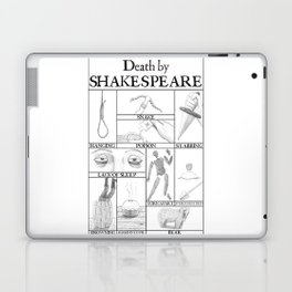 Death by Shakespeare Laptop & iPad Skin