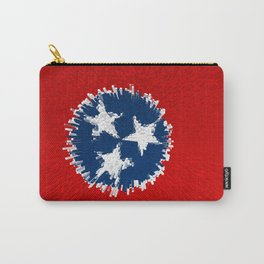 Extruded flag of Tennessee Carry-All Pouch