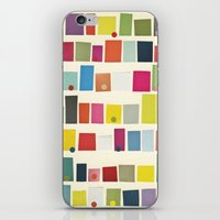 city iPhone & iPod Skins featuring City by Cassia Beck