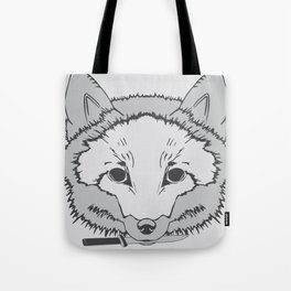 Pirate Fox Tote Bag