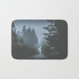 Foggy Cruise Bath Mat