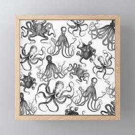 Octopus Kraken Everywhere Framed Mini Art Print