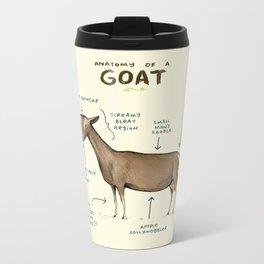 Anatomy of a Goat Metal Travel Mug