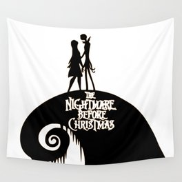 Jack and Sally - The Nightmare Before Christmas Wall Tapestry