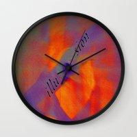 illusion Wall Clocks featuring illusion  by  Agostino Lo Coco