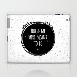 LOVE - You & me were meant to be by Lo Lah Studio Laptop & iPad Skin