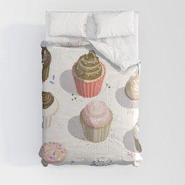I Like Cupcakes Comforters