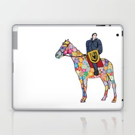 Sir Flower the Golden Knight Laptop & iPad Skin