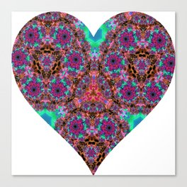 XL Valentine's Heart 2 Canvas Print