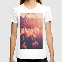 dream catcher T-shirts featuring Dream Catcher by Whitney Retter