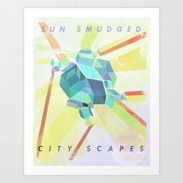 Sun Smudged Art Print