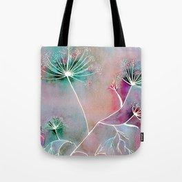Funky Fennel Fireworks Tote Bag