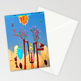 Dreaming | Playground | Up to the Clouds Stationery Cards