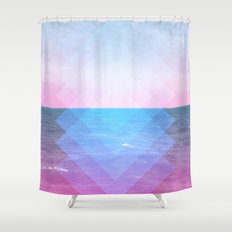 Sea Diamonds Shower Curtain