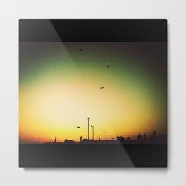 Silhouette Metal Print
