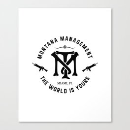 Montana Management Canvas Print