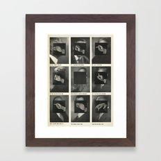 v important smokers Framed Art Print
