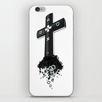 religion iPhone & iPod Skins featuring Game religion by Dmitriy Turovskiy (pushok12)