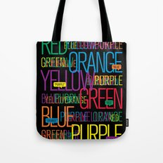 Say The Color Tote Bag