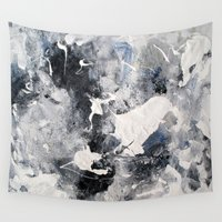 manhattan Wall Tapestries featuring Manhattan by Solveig Noll