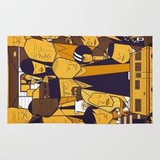 Breaking Bad (yellow version) Rug