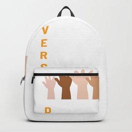Diversity Culture Gay or Transgender Gift Backpack