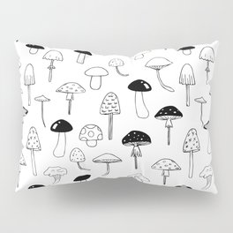 Magic Mushrooms Pillow Sham