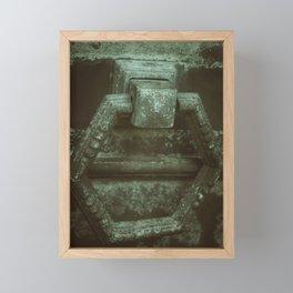 Door to eternity Framed Mini Art Print