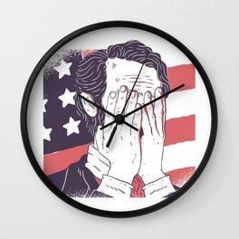 Abraham Lincoln Wall Clock