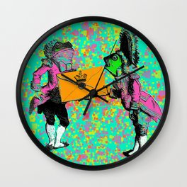 Toad Wall Clock