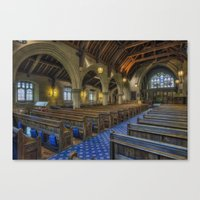christ Canvas Prints featuring Christ Church by Ian Mitchell