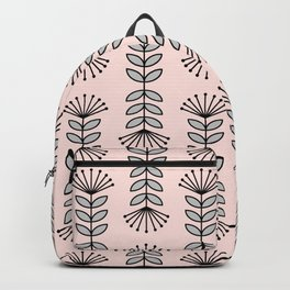 Retro Pink Floral Pattern-Mix and Match with Simplicity of Life Backpack
