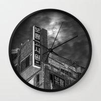 korea Wall Clocks featuring Moonlight in Jeonju, Korea by Clayton Jones