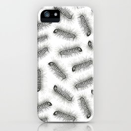 Hairy grubs iPhone Case