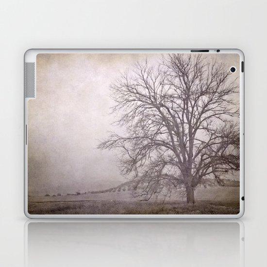 The big tree under the storm Laptop & iPad Skin