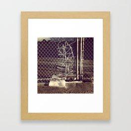 Installation, Los Angeles Flower District Framed Art Print