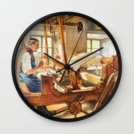 Weavers Wall Clock