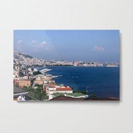 Seaside City Metal Print