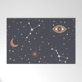 Mystical Galaxy Welcome Mat