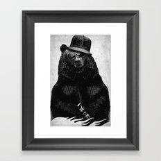 BlackB Framed Art Print