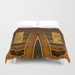 I Am An Amazon Leathers Duvet Cover
