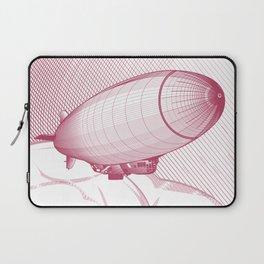 Airship engraving Laptop Sleeve
