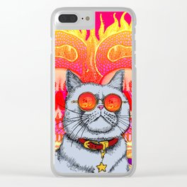 Natural Born Kittens Clear iPhone Case